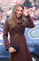 Catherine, Duchess of Cambridge - at the National Fishing Heritage Centre in Grimsby 3/5/13