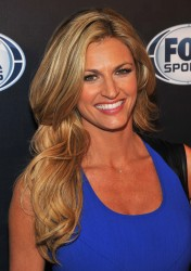 Erin Andrews - 2013 FOX Sports Media Group Upfront after party in NYC 3/5/13