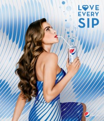 Sofia Vergara Diet Pepsi Love Every Sip Promoshoot 2013