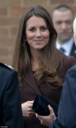 Kate Middleton, looking beautiful visiting Peaks Lane Fire Station in Grimsby - 5/Mar/13