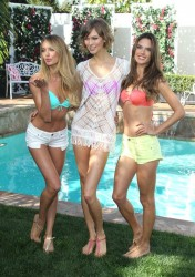 Candice Swanepoel, Karlie Kloss & Alessandra Ambrosio - 2013 Victoria's Secret Swim Collection Launch in LA 3/12/13