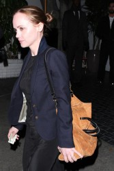 Christina Ricci - at the Chateau Marmont in West Hollywood 3/15/13
