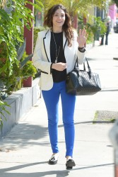 Emmy Rossum - out and about in West Hollywood 3/15/13