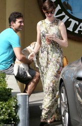 Anne Hathaway - out in West Hollywood 3/16/13