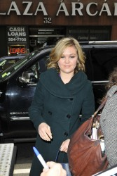 Julia Stiles - arrives at the Today show in NYC 3/18/13