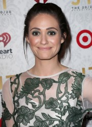 Emmy Rossum - The iHeartRadio '20/20' Album Release Party w/Justin Timberlake in LA 3/18/13