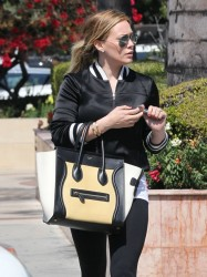 Hilary Duff - out in LA 3/22/13