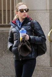 Scarlett Johansson - out in NYC 3/25/13