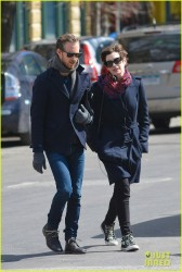 Anne Hathaway - out in NYC 3/26/13