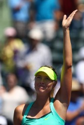 Maria Sharapova - 2013 Sony Open Day 11 in Key Biscayne 3/28/13