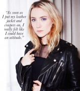Saoirse Ronan - Who What Wear photoshoot x2