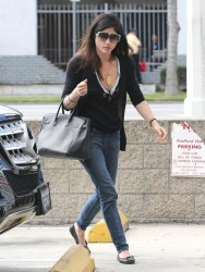 Selma Blair - out in Studio City 4/1/13