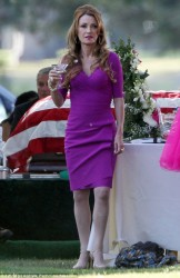 Jane Seymour - on the set of 'Keep Calm And Karey On' in LA 4/3/13