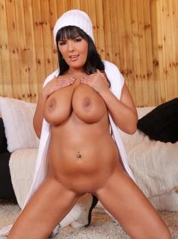 Jasmine Black   Big titted rub and finger fuck herself HD 720p