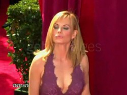 MARG HELGENBERGER cleavage and sideboob - 2005 Emmy Awards