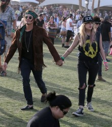Ashley Benson - Coachella Valley Music & Arts Festival in Indio 4/14/13