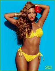 Beyonce - H&M Bikini Campaign Photo Shoot