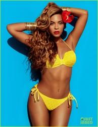 Beyonce - H&M Bikini Campaign Photo Shoot