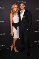 Laura Dundovic - Giorgio Armani Beauty Counter Official Opening in Sydney 4/16/13