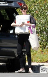 Anne Hathaway - out in LA 4/16/13