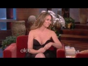 Jennifer Love Hewitt Showing Her Amazing Cleavage on The Ellen DeGeneres Show - April 18, 2013