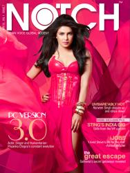 Priyanka Chopra - Notch Magazine April 2013