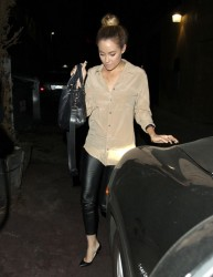 Lauren Conrad - leaves Aventine restaurant in Hollywood 4/29/13