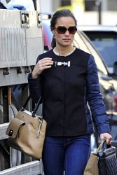 Pippa Middleton - out in London 5/3/13