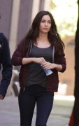 "Megan Fox on the set of ""Teenage Mutant Ninja Turtles"" in NYC - May 4, 2013"