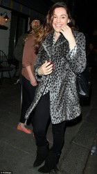 Kelly Brook - at The Little House club in London 5/4/13