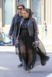 Kim Kardashian - Out and about in NYC 5/5/13