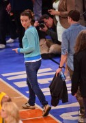 Olivia Wilde  at the New York Knicks - Indiana Pacers NBA Playoff Game, May 5th, 2013