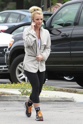 Britney Spears - Headed to a gym in LA 5/7/13