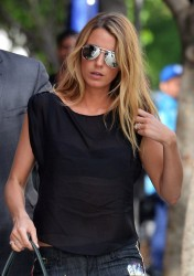 New -Blake Lively - Out &amp;amp; About coming in the Jane Hotel in West Village, New York 07 05 2013