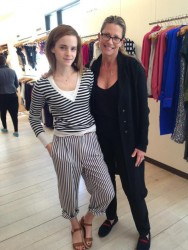 Emma Watson at a Store in New York City - April 30, 2013