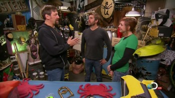 Kari Byron - Mythbusters S12E02  Deadliest Catch Special - HDCaps - 8/5/13