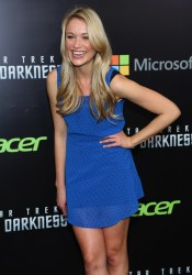Katrina Bowden - 'Star Trek Into Darkness' screening in NYC 5/9/13