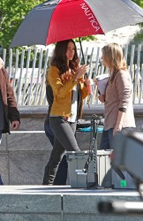 Megan Fox - on the set of 'TMNT' in Manhattan 5/10/13