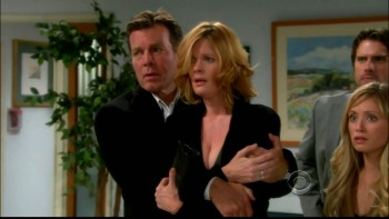 MICHELLE STAFFORD cleavage - y&r - nice choice devastates sharon - jan4,2011