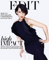 Lucy Liu - Net-A-Porter June 2013