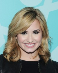 Demi Lovato - 2013 FOX Programming Presentation post party in NYC 5/13/13