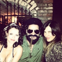 Sasha Cohen at a Halloween Party - October 27, 2012