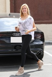 Lindsay Arnold - at DWTS practice in Hollywood 5/18/13