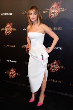 Jennifer Lawrence The Hunger Games Catching Fire Party 14
