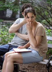 Katie Holmes - on the set of 'Mania Days' in NYC 5/21/13