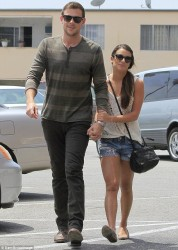 Lea Michele - out in West Hollywood 5/21/13