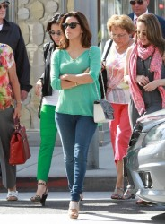 Eva Longoria - out in Beverly Hills 5/23/13