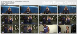 ALISYN CAMEROTA cleavage - FNF - 2010 - WORKOUT CLEAVAGE