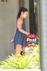 Vanessa Hudgens - At her home in LA 5/29/13