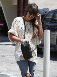 Lea Michele - out in Beverly Hills 5/30/13